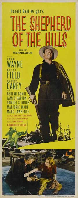 Shepherd of the Hills - 14 x 36 Movie Poster - Insert Style A