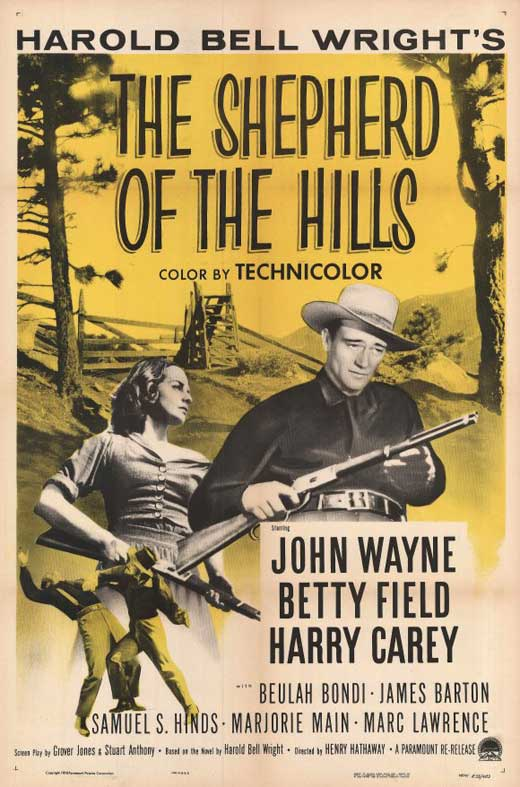 shepherd of the hills movie posters from movie poster shop