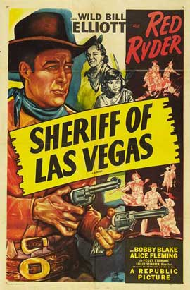 Sheriff of Las Vegas - 11 x 17 Movie Poster - Style A