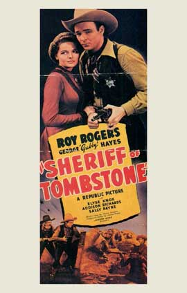 Sheriff of Tombstone - 11 x 17 Movie Poster - Style A