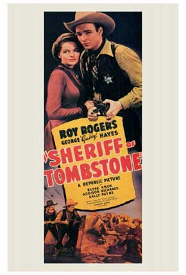 Sheriff of Tombstone - 27 x 40 Movie Poster - Style A