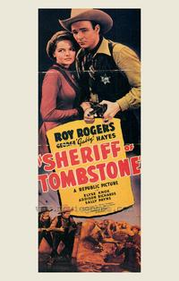 Sheriff of Tombstone - 43 x 62 Movie Poster - Bus Shelter Style A