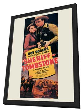 Sheriff of Tombstone - 11 x 17 Movie Poster - Style A - in Deluxe Wood Frame