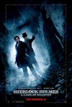Sherlock Holmes A Game of Shadows - 43 x 62 Movie Poster - Bus Shelter Style E