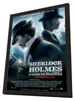 Sherlock Holmes A Game of Shadows - 11 x 17 Movie Poster - Style C - in Deluxe Wood Frame