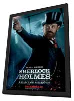 Sherlock Holmes A Game of Shadows - 11 x 17 Movie Poster - Style K - in Deluxe Wood Frame