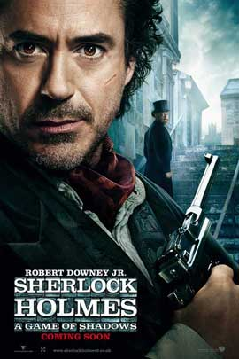 Sherlock Holmes A Game of Shadows - 27 x 40 Movie Poster - UK Style B