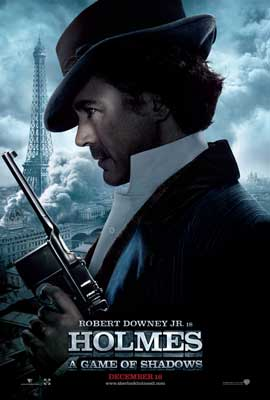 Sherlock Holmes A Game of Shadows - 11 x 17 Movie Poster - Style D