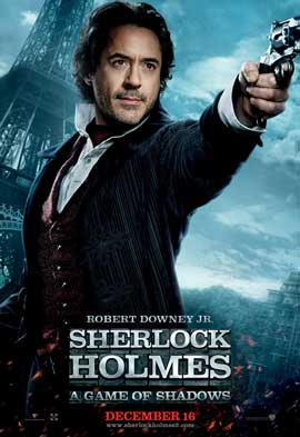 Sherlock Holmes A Game of Shadows - 11 x 17 Movie Poster - Style H