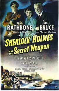 Sherlock Holmes and the Secret Weapon - 43 x 62 Movie Poster - Bus Shelter Style A