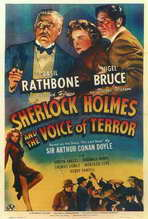 Sherlock Holmes: The Voice of Terror - 27 x 40 Movie Poster - Style A