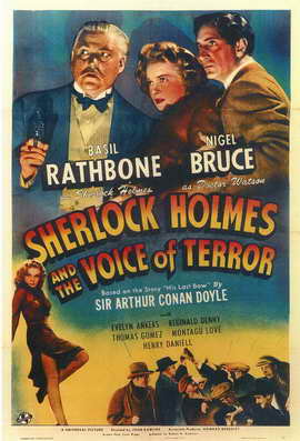 Sherlock Holmes: The Voice of Terror - 11 x 17 Movie Poster - Style A