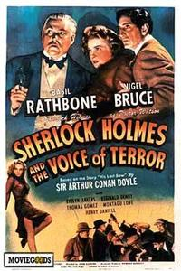 Sherlock Holmes: The Voice of Terror - 43 x 62 Movie Poster - Bus Shelter Style A