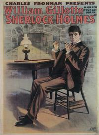 Sherlock Holmes (Broadway) - 14 x 22 Poster - Style A