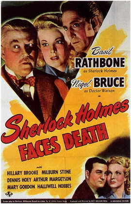 Sherlock Holmes Faces Death - 11 x 17 Movie Poster - Style A