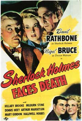 Sherlock Holmes Faces Death - 11 x 17 Movie Poster - Style B