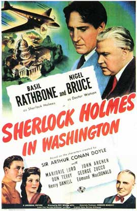Sherlock Holmes in Washington - 11 x 17 Movie Poster - Style A
