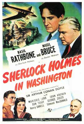 Sherlock Holmes in Washington - 27 x 40 Movie Poster - Style A