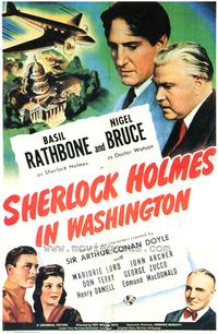 Sherlock Holmes in Washington - 43 x 62 Movie Poster - Bus Shelter Style A