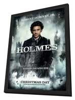 Sherlock Holmes - 27 x 40 Movie Poster - Style A - in Deluxe Wood Frame