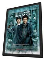 Sherlock Holmes - 27 x 40 Movie Poster - Style F - in Deluxe Wood Frame