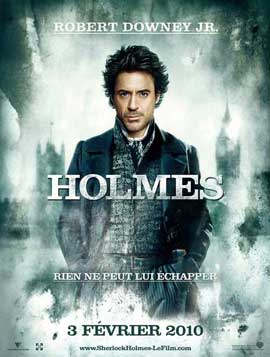 Sherlock Holmes - 11 x 17 Movie Poster - French Style B