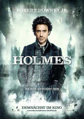 Sherlock Holmes - 11 x 17 Movie Poster - German Style A