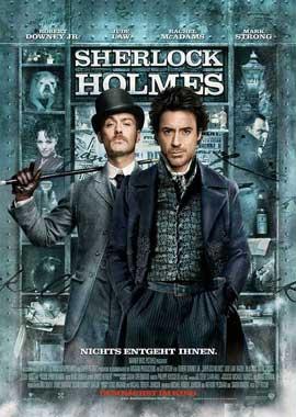 Sherlock Holmes - 11 x 17 Movie Poster - German Style B