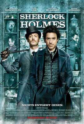 Sherlock Holmes - 27 x 40 Movie Poster - German Style B