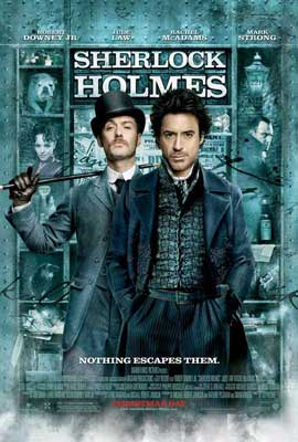 Sherlock Holmes - 27 x 40 Movie Poster - Style F