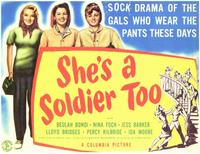 She's a Soldier Too - 11 x 14 Movie Poster - Style A