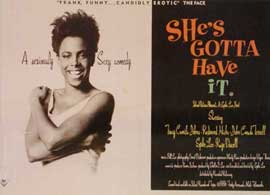 She's Gotta Have It - 11 x 14 Poster - Foreign - Style B