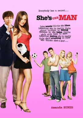 She's the Man - 11 x 17 Movie Poster - Swedish Style A