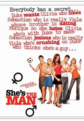 She's the Man - 11 x 17 Movie Poster - Style B