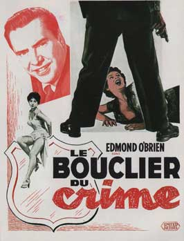Shield for Murder - 11 x 17 Movie Poster - French Style A