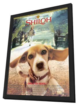 Shiloh - 11 x 17 Movie Poster - Style A - in Deluxe Wood Frame
