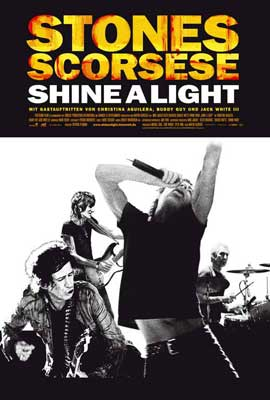 Shine A Light - 27 x 40 Movie Poster - German Style A