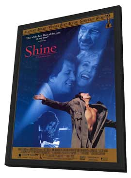 Shine - 11 x 17 Movie Poster - Style A - in Deluxe Wood Frame