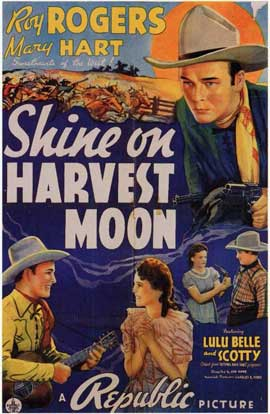 Shine on Harvest Moon - 11 x 17 Movie Poster - Style A