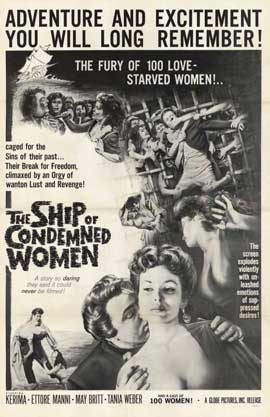Ship of Condemned Women - 11 x 17 Movie Poster - Style A