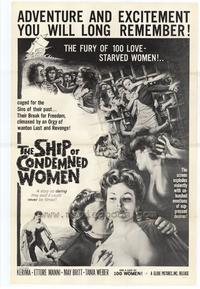 Ship of Condemned Women - 27 x 40 Movie Poster - Style A