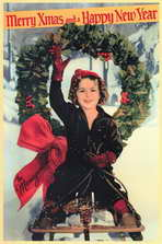 Shirley Temple Christmas Greeting - 11 x 17 Movie Poster - Style A