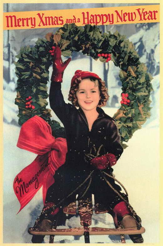 Shirley Temple Christmas Greeting