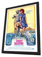 Shirley Valentine - 27 x 40 Movie Poster - Style A - in Deluxe Wood Frame