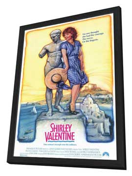 Shirley Valentine - 11 x 17 Movie Poster - Style A - in Deluxe Wood Frame