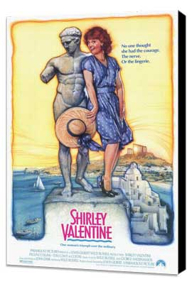 Shirley Valentine - 11 x 17 Movie Poster - Style A - Museum Wrapped Canvas
