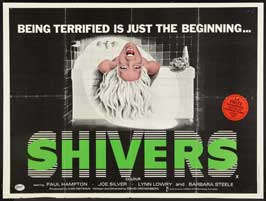 Shivers - 27 x 40 Movie Poster - UK Style A