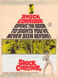 Shock Corridor - 43 x 62 Movie Poster - Bus Shelter Style A