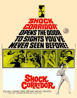 Shock Corridor - 22 x 28 Movie Poster - Half Sheet Style A