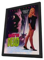 Shock 'Em Dead - 11 x 17 Movie Poster - Style A - in Deluxe Wood Frame